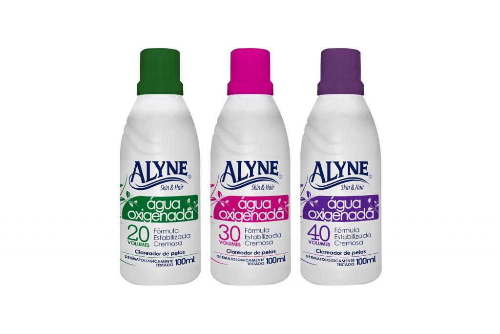 Águua oxigenada Alyne